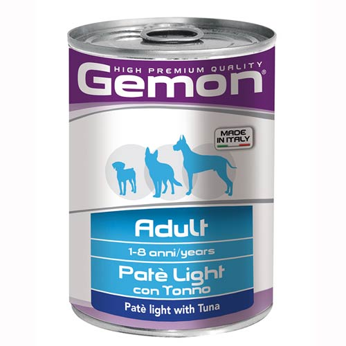 Gemon Dog Light Pate s tuno za odrasle pse