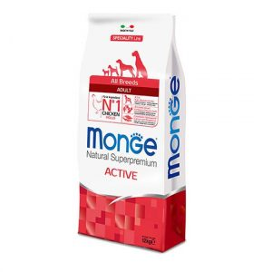 Monge Active s piščancem hrana za aktivne odrasle pse