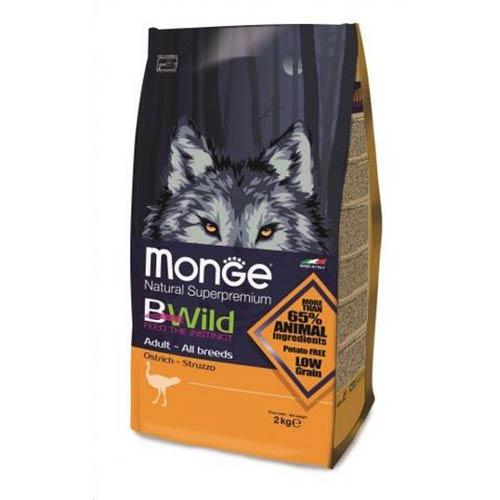 Monge BWild noj za odrasle pse vseh pasem