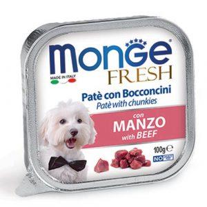 Monge Fresh Pate s koščki govedine