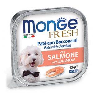 Monge Fresh Pate s koščki lososa