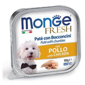 Monge Fresh Pate s koščki piščanca