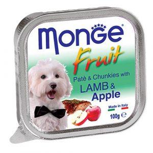 Monge Fruit z jagnjetino in jabolkom