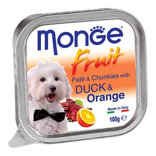 Monge Fruit z raco in pomarančo