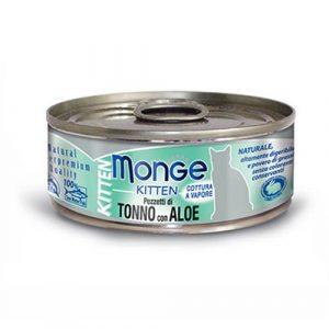 Monge Jelly s tuno in izvleckom aloe za macje mladicke