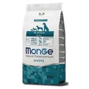 Monge z lososom in tuno HIPOALERGENA hrana za pse vseh pasem