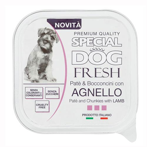 Special Dog Fresh z jagnjetino