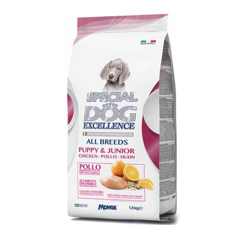 Special Dog s piščancem za pasje mladiče in odraščujoče pse