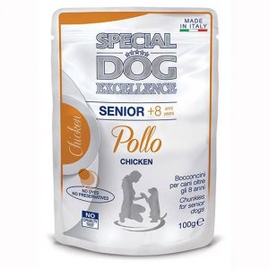 Special Dog s piščancem za starejše pse