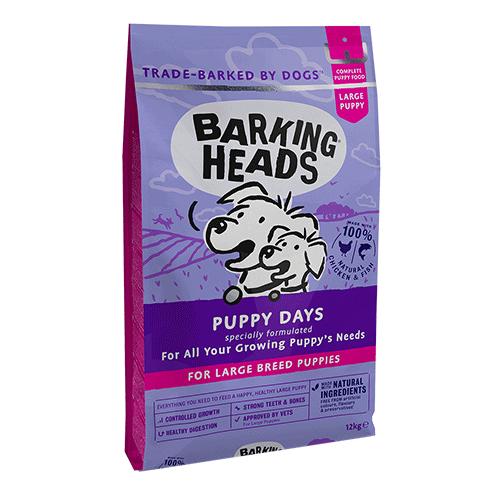Barking Heads Puppy Days najboljša hrana za mladiče VELIKIH pasem