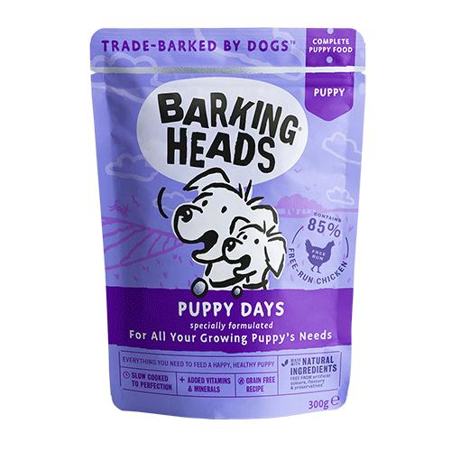 Barking Heads s piščanca za mladiče in odraščajoče pse