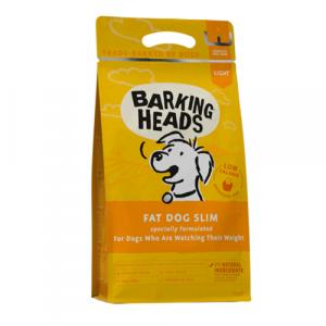 Barking Heads s piščancem in postrvjo hrana za pse s prekomerno težo