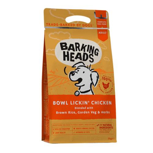 Barking Heads s piščancem za odrasle pse s problemi pri prebavi