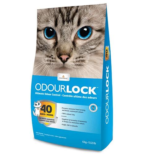 Intersand OdourLock pesek za mačke