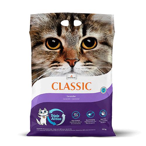 Intersand pesek za mačke z vonjem sivke