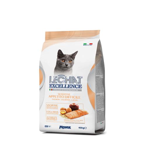 Lechat z lososom za odrasle mačke z občutljivejšo prebavo