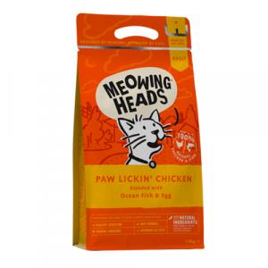 Meowing Heads s piščancem za odrasle mačke