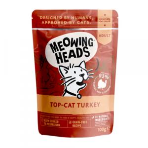 Meowing Heads s puranom za odrasle mačke
