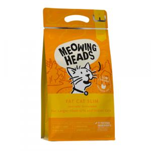 Meowing Heads za odrasle mačke s prekomerno težo