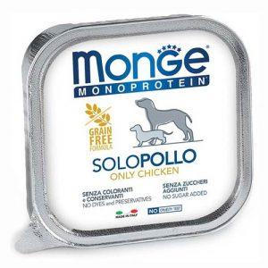 Monge Pate monoproteinska s piščancem za pse