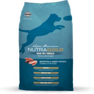 Nutra Gold Grain Free bela riba s sladkim krompirjem