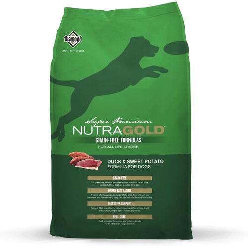 Nutra Gold Grain Free raca s sladkim krompirjem