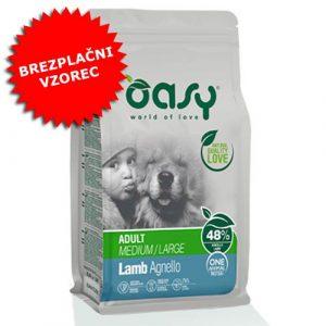 Oasy z jagnetino (48%) za odrasle pse MONOPROTEINSKA