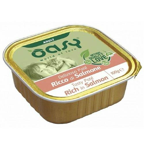 OASY hrana za odrasle mačke z lososom