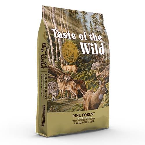 Taste Of The Wild Pine Forest z divjačino za odrasle pse