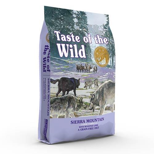 Taste Of The Wild SIERRA MOUNTAIN z jagnjetino za odrasle pse
