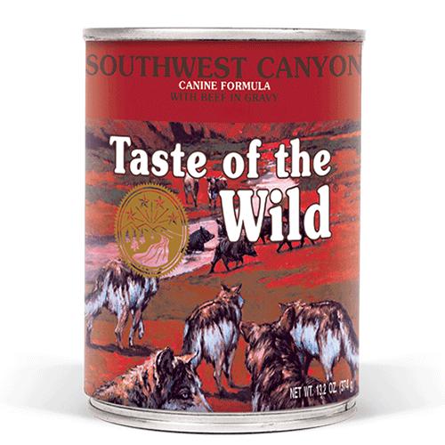 Taste of the Wild CANYON mokra hrana za pse z govedino