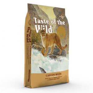 Taste of the Wild Canyon River za mačke
