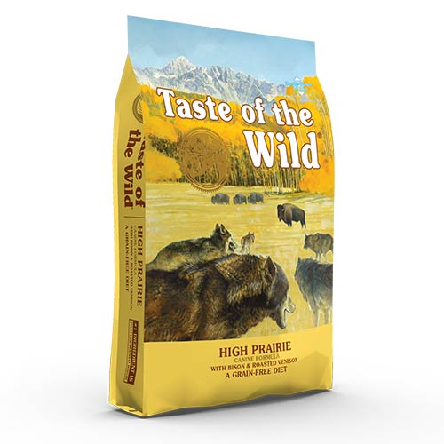 Taste of the Wild High Praire z bizonom za odrasle pse
