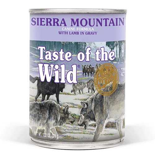 Taste of the Wild SIERRA MOUNTAIN z jagnetino