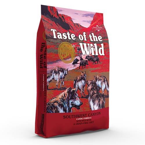 Taste of the Wild SOUTHWEST CANYON z divjim prašičem za odrasle pse