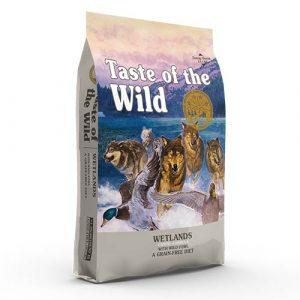 Taste of the Wild WETLANDS s pečeno divjo perutnino za odrasle pse