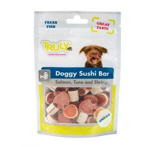 WANPY - Truly Dog Sushi Bar-losos, tuna, škampi