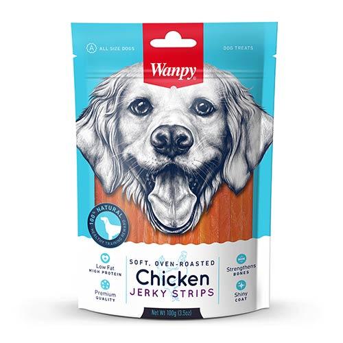Wanpy Chicken Jerky Strips