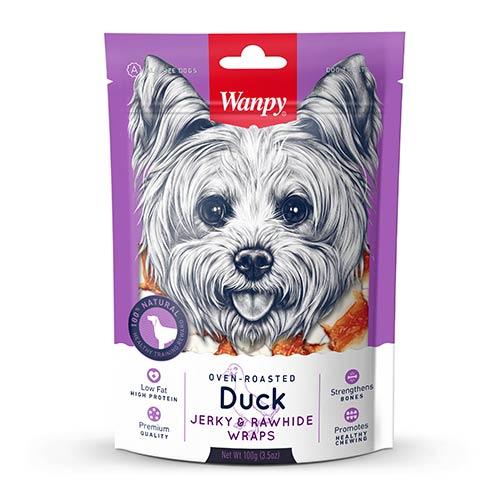 Wanpy Duck Jerky & Rawhide Wraps