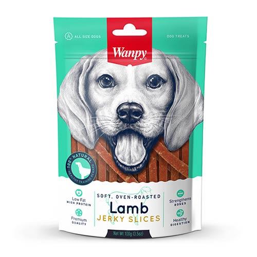 Wanpy Soft Lamb Jerky Slices