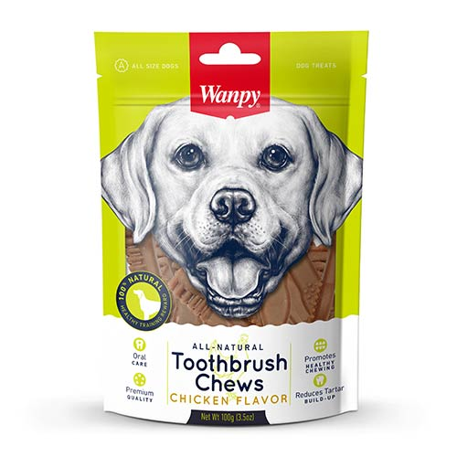 Wanpy Toothbrush Chews