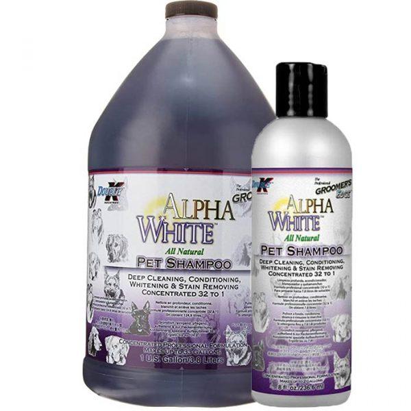 Double K Alpha White šampon oba