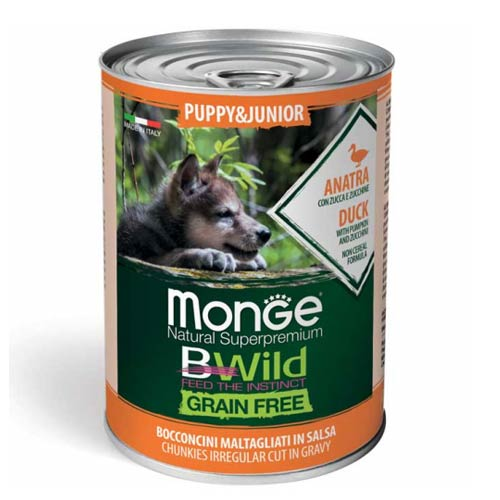 Monge BWild z raco za pasje mladiče in odraščajoče pse