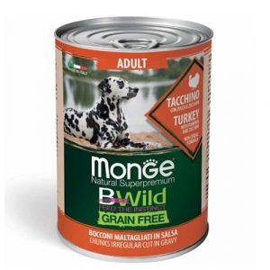 Monge Bwild s puranom za odrasle pse
