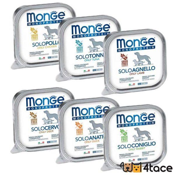 monge pate monoproteinske konzerve