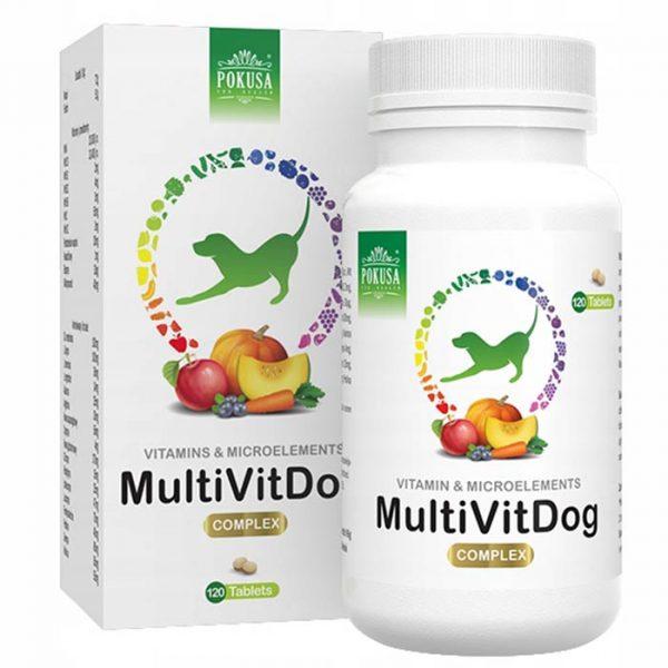multivitaminski in mineralni kompleks za pse