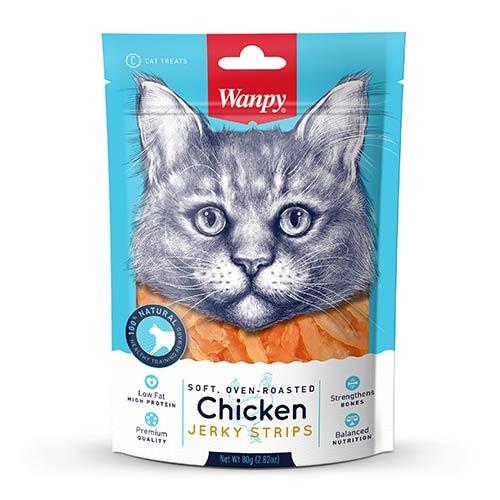 Wanpys piščancem-priboljški za mačke