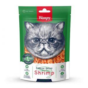 Wanpy z kozicami-priboljški za mačke