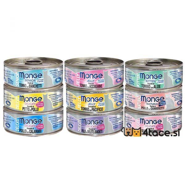 monge konzerve jelly mokra hrana za macke miks