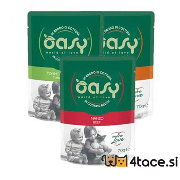oasys MORE LOVE POUCH mokra hrana za mačake miks
